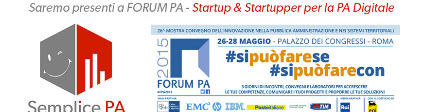 "Semplice PA vince ""Forum PA Call4ideas 2015″"